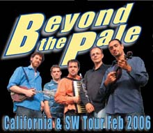 Beyond the Pale tour poster