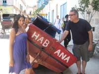 Sarah Aroeste, Roberto Rodriguez in Cuba
