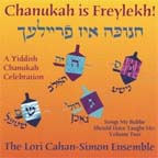 Cahan-Simon / Chanukah CD cover