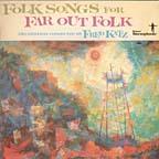 Fred Katz / Folk songs for far out folk CD cover
