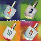 A Chanukah Feast, Vol. II cover
