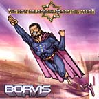 Super Borvis discards his boots and heads into space