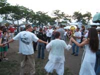 Dancing on the lawn with Konsonans Retro at Ashkenaz 2008
