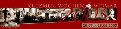 part of the Weimar Klezmer Wochen logo
