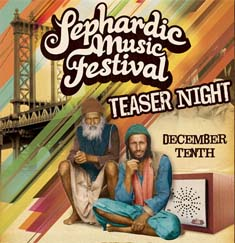 Sephardic Music Festival Teaser Night