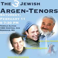 Three Jewish Argen-Tenors